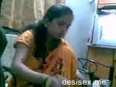 Desi newly married couple..