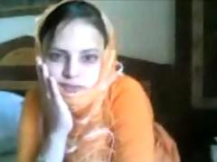 Cute najma babe showing the..