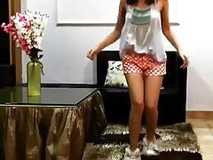 Desi Teen Dancing, In like..
