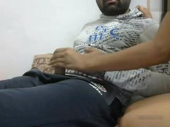 Desi Young Couple's Webcam..