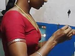 Tamil aunty Saree rooms