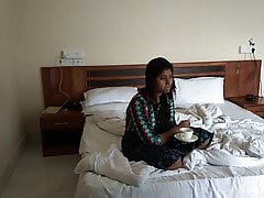 indian secretary in hotel..