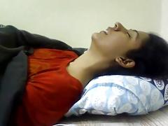 Indian girl masturbating -..